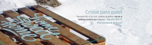 Cristal para palet oferta
