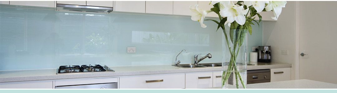 Frente de cocina de cristal for Simulador de cocina