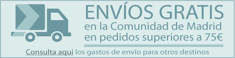 Envíos gratis en la Comunidad de Madrid